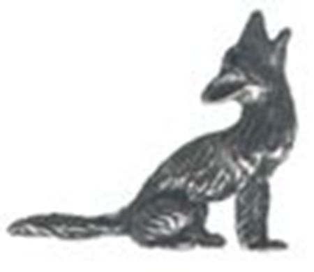 Picture of A1011   Coyote Figurine